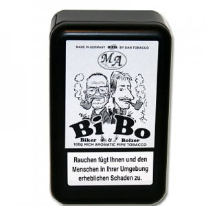 Biker & Bolzer BiBo Pfeiefentabak mit Aroma 100g Dose