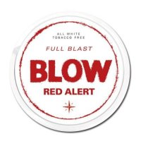 Blow Red Alert All White Slim Nicopods