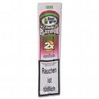 Blunt Wraps Zigarettenpapier Double Platinum Jade (Wassermelone)