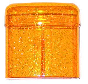 Body Disco orange Zigaretten-Box