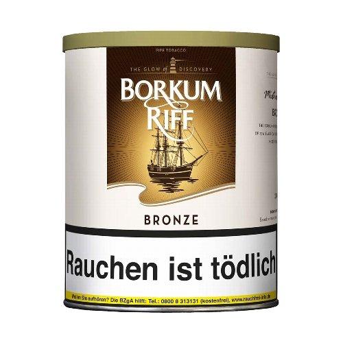 Borkum Riff Pfeifentabak Bronze (ehem. Bourbon Whiskey) 200g Dose