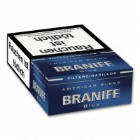 Braniff Filterzigarillos American Blend Blue 17er