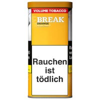 Break Tabak Orange 110g Dose Volumentabak