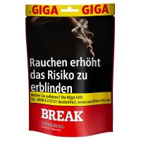 Break Tabak Rot 175g GIGA Volumentabak