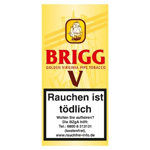 Brigg V Pfeifentabak (ehem. Vanilla) 40g Päckchen