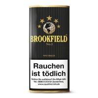 Brookfield Pfeifentabak No.2 (Black Vanilla) 50g Päckchen