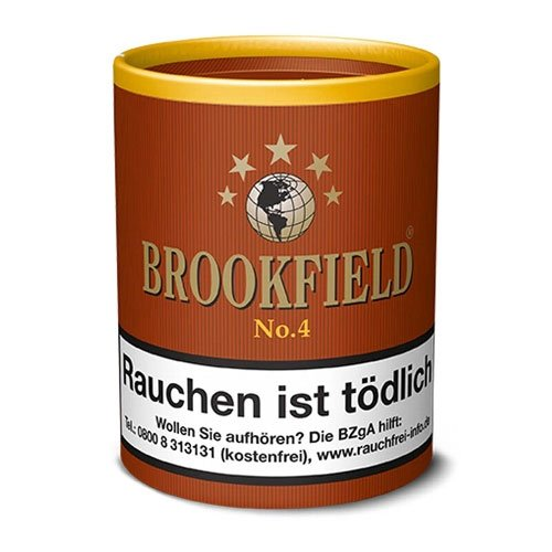 Brookfield Pfeifentabak No.4 (Black Bourbon) 200g Dose