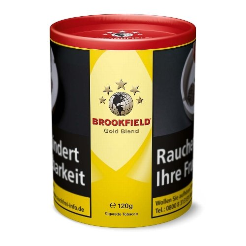 Brookfield Tabak Gold Blend 120g Dose Zigarettentabak