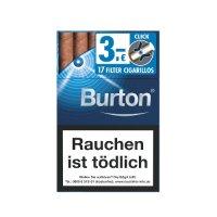 Burton Blue Crush Click Filterzigarillos (Artikel wird nicht mehr hergestellt)