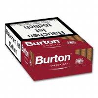 Burton Original Filterzigarillos mit Naturdeckblatt 17er