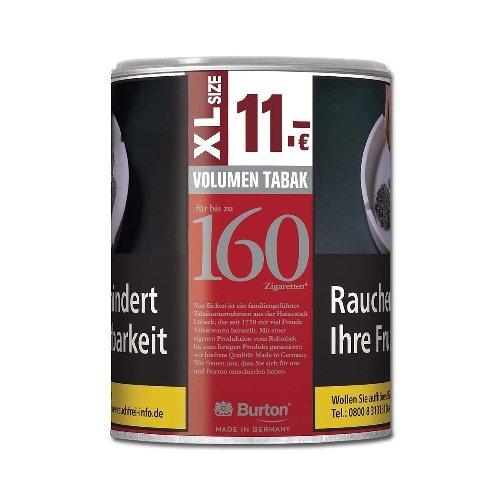 Burton Tabak Rot XL 65g Dose Volumentabak