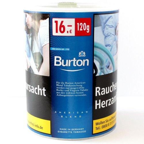 Burton Tabak Blue (White) 120g Dose Feinschnitt