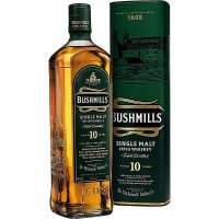 Bushmills Single Malt Whisky 10 Years 40% Alkohol 0,7L