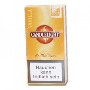 Candlelight Zigarillos Gold Mini (Vanilla) (Artikel wird nicht mehr hergestellt)