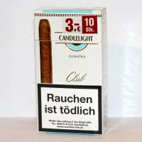 Candlelight Zigarren Club Sumatra 10er