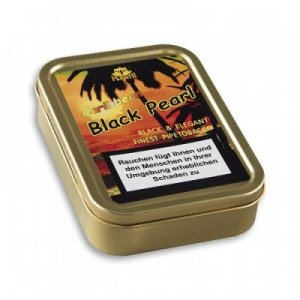 Caribbean Black Pearl Pfeifentabak 50g Dose (Artikel wird nicht mehr hergestellt)