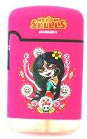 Mexican Skulls Easy Torch 8 Jet Feuerzeug Catrinas Pink