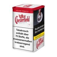 Chesterfield Tabak Rot 115g Dose Volumentabak