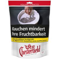 Chesterfield Tabak Rot 150g Beutel Volumentabak