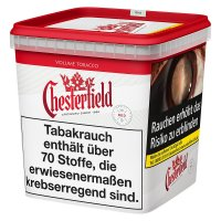 Chesterfield Tabak Rot 280g Super Box Volumentabak