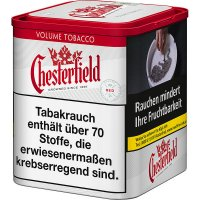 Chesterfield Tabak Rot 45gDose Volumentabak