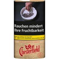 Chesterfield Tabak ohne Zusätze True Red 30g Päckchen Feinschnitt