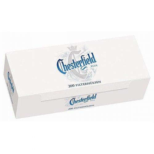 Chesterfield Zigarettenhülsen Blue 200 Stück