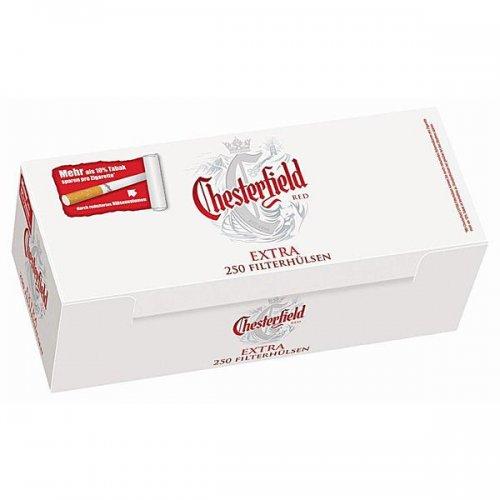 Chesterfield Zigarettenhülsen Red Extra 250 Stück