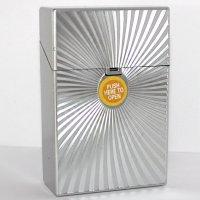 Clic Boxx 20er Deluxe Silber No 2 Zigarettenbox
