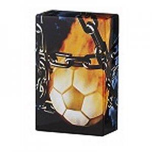 Clic Boxx Zigarettenbox 20er Fußball Flamme