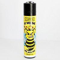 Clipper Feuerzeug Bienen # 2 - 1/4