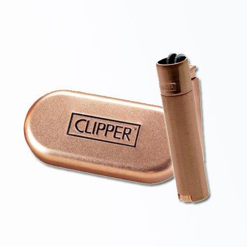 Clipper Feuerzeug Metall Rose Gold