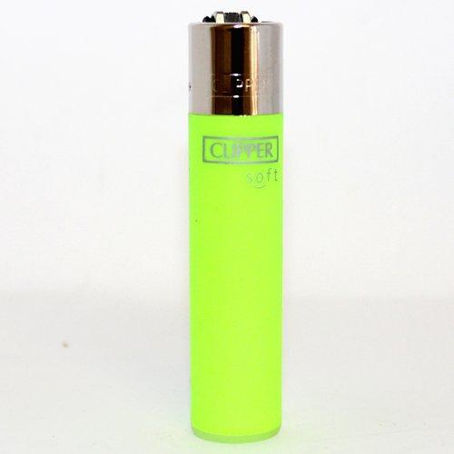 Clipper Feuerzeug Soft grün