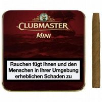 Clubmaster Zigarillos Mini Red ohne Filter