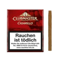 Clubmaster Zigarillos No 292 Red ohne Filter