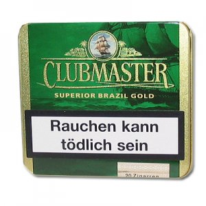 Clubmaster Zigarillos Superior Brasil Gold 164