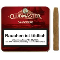 Clubmaster Zigarillos Superior Red ohne Filter