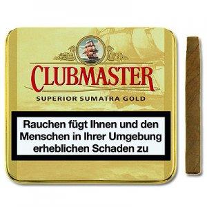 Clubmaster Zigarillos Superior Sumatra Gold 161