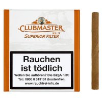 Clubmaster Zigarillos White Superior Filter