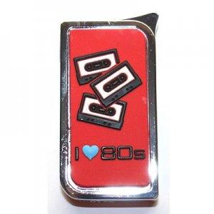 Colton 80er Metal Piezo Rot Feuerzeug