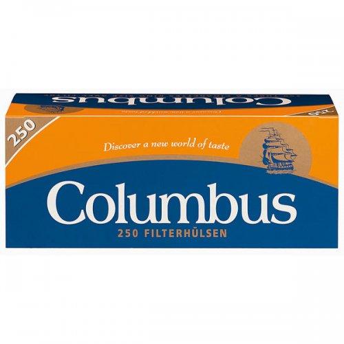 Columbus Zigarettenhülsen 250 Stück