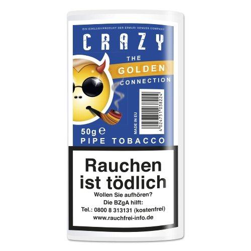 Crazy Pfeifentabak Golden 50g Päckchen