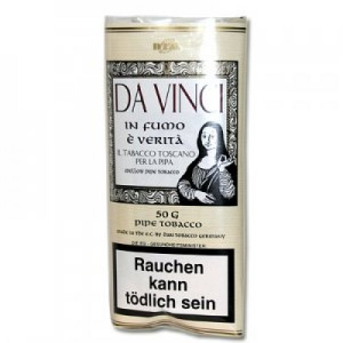 Da Vinci In Fumo E Verita Pfeifentabak 50g Päckchen