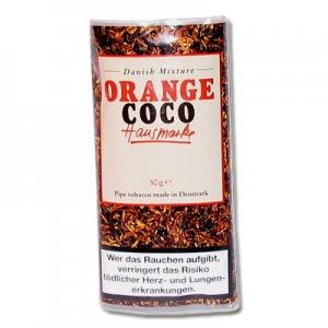 Danish Mixture Pfeifentabak Hausmarke Orange (ehem. Orange-Coco) 50g Päckchen