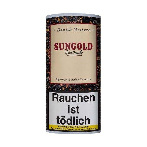 Danish Mixture Pfeifentabak Sungold (ehem.Vanilla) Hausmarke 50g Päckchen