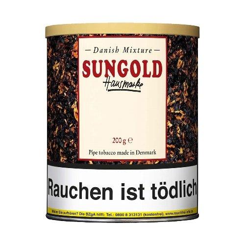 Danish Mixture Sungold Hausmarke 200g Dose Pfeifentabak