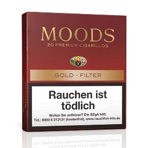 Dannemann Moods Golden Taste Zigarillos mit Filter