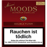 Dannemann Moods Zigarillos Mini Double Filter 20er