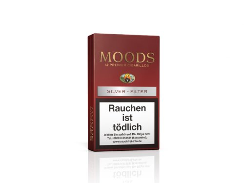Dannemann Moods Zigarillos Silver Filter 12 Stk.