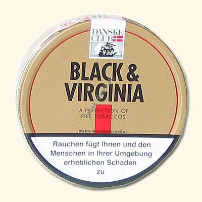 Danske Club Pfeifentabak Black & Virginia 100g Dose